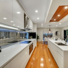 modern kitchen - real estate photography