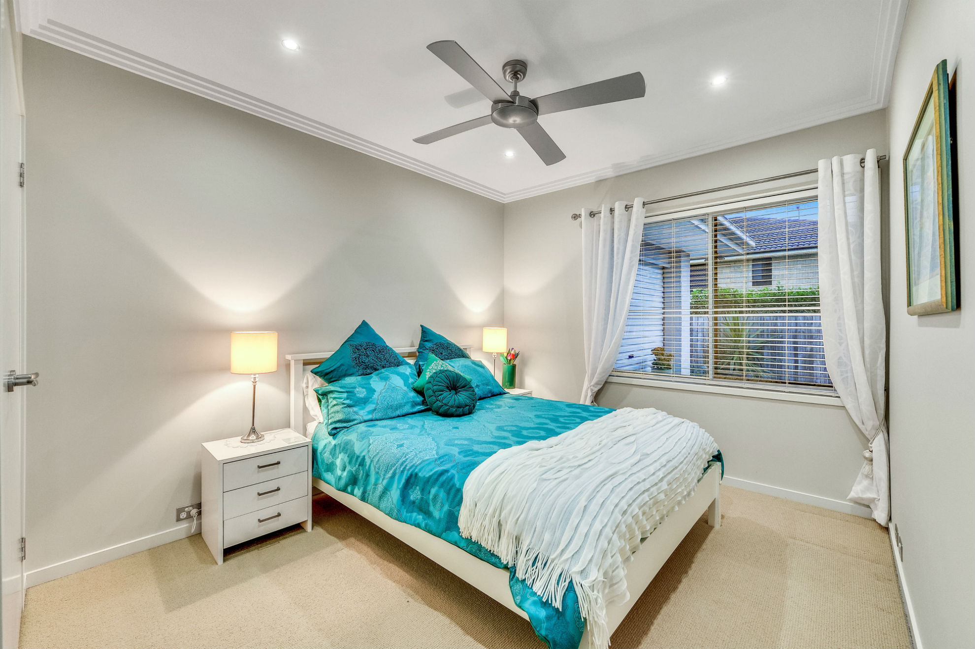 bedroom - real estate photography