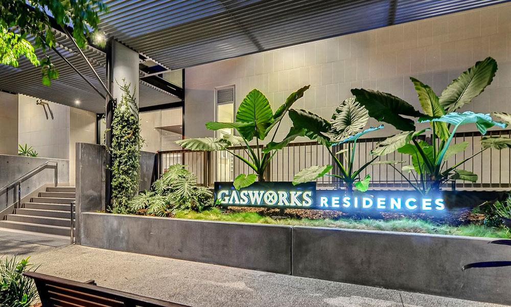 Brisbane's Newstead Gasworks Residences