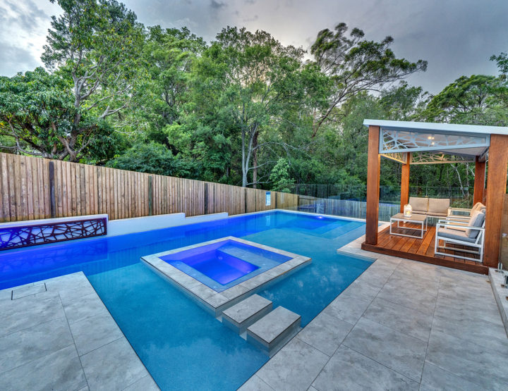 Photographing Swimming Pools for Real Estate