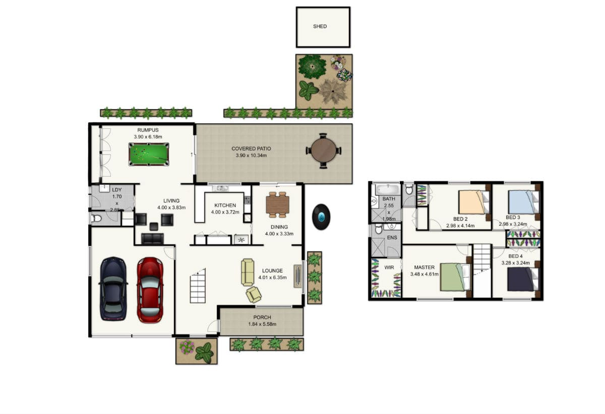 floor plans for brisbane property