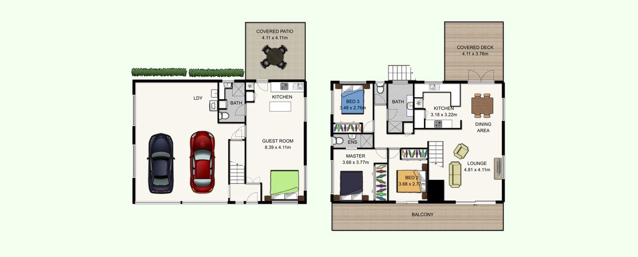 Floor Plans For Real Estate Marketing Four Walls