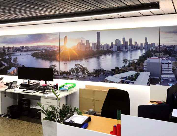 Drone Photography for a Brisbane Office